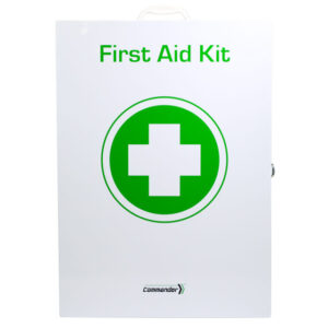 Commander 6 Series - First Aid Kit Metal Cabinet